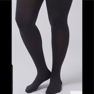 NWT Lane Bryant Smoothing Super Opaque Tights SzCD